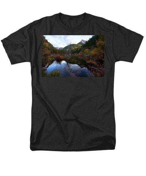Men's T-Shirt  (Regular Fit) featuring the photograph Lizard Lake by Jim Garrison