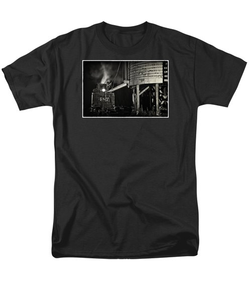 Loading Water At Chama Train Station Men's T-Shirt  (Regular Fit) by Priscilla Burgers
