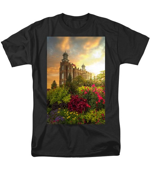 Logan Temple Garden Men's T-Shirt  (Regular Fit) by Dustin  LeFevre