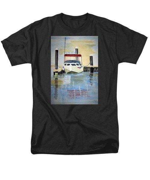 Lone Boat Men's T-Shirt  (Regular Fit) by Elvira Ingram