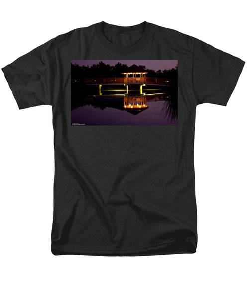 Lone Canoe Men's T-Shirt  (Regular Fit) by Brian Williamson