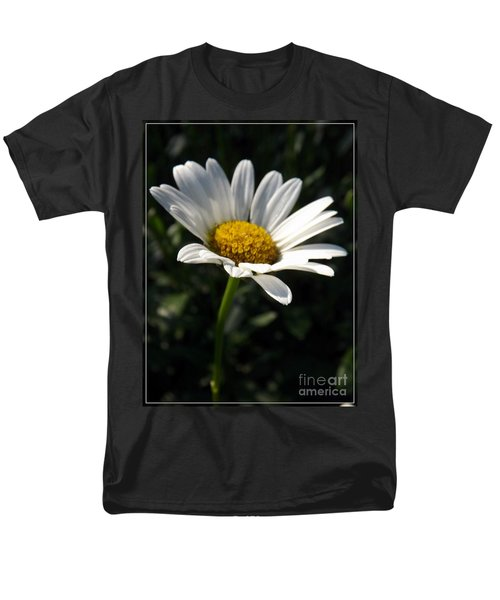 Lone Daisy Men's T-Shirt  (Regular Fit) by Sara  Raber