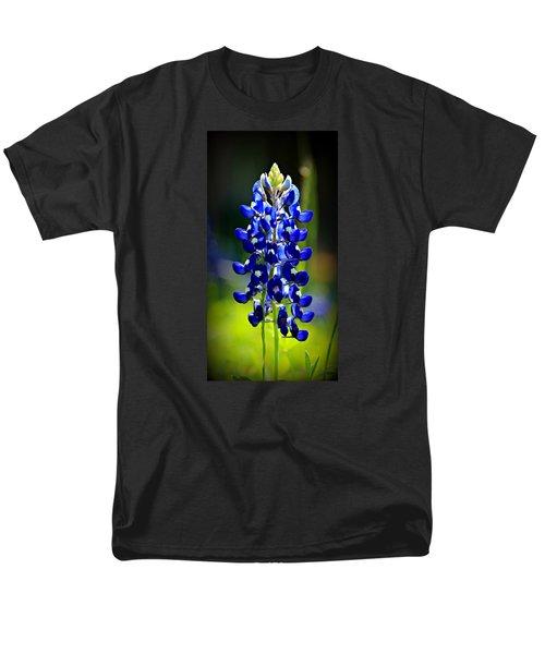 Lone Star Bluebonnet Men's T-Shirt  (Regular Fit) by Stephen Stookey