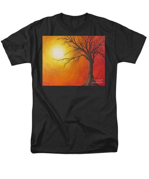 Lone Tree Men's T-Shirt  (Regular Fit) by Denise Hoag