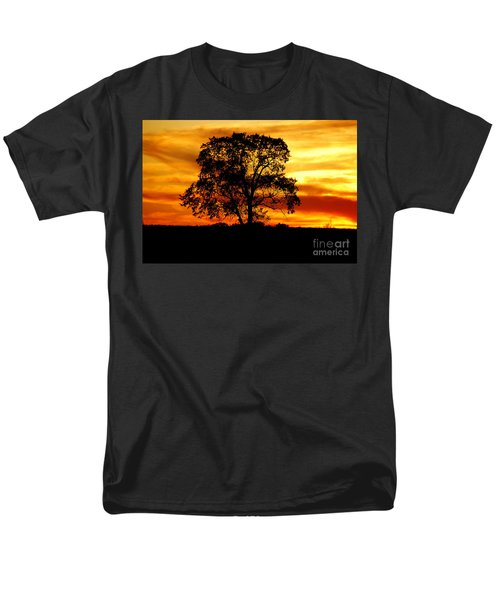 Lone Tree Men's T-Shirt  (Regular Fit) by Mary Carol Story
