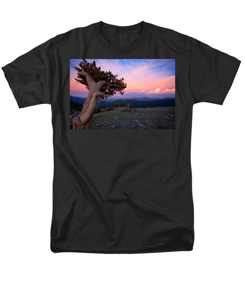 Lonesome Pine Men's T-Shirt  (Regular Fit) by Jim Garrison