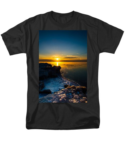 Long Cold Winter II Men's T-Shirt  (Regular Fit) by James  Meyer