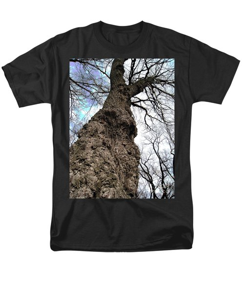Men's T-Shirt  (Regular Fit) featuring the photograph Look Up Look Way Up by Nina Silver