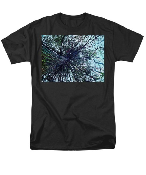 Look Up Through The Trees Men's T-Shirt  (Regular Fit) by Joy Nichols