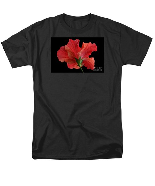 Men's T-Shirt  (Regular Fit) featuring the photograph Looking Back by Judy Whitton