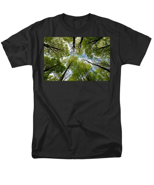 Looking Up Men's T-Shirt  (Regular Fit) by Ron Harpham