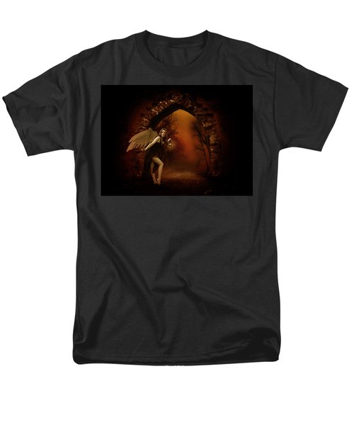 Men's T-Shirt  (Regular Fit) featuring the photograph Lost Fairy by Ester  Rogers