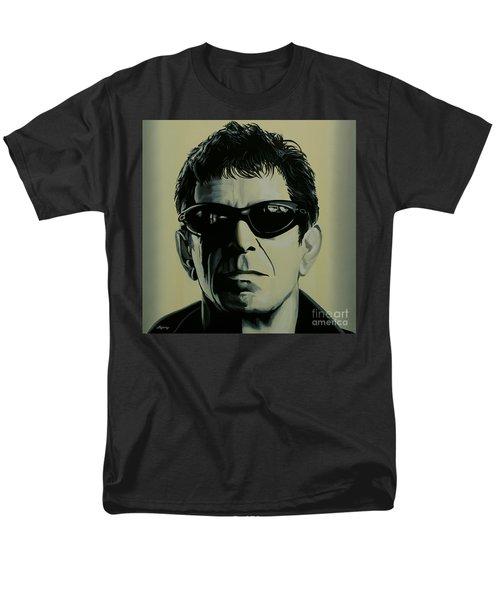 Lou Reed Painting Men's T-Shirt  (Regular Fit) by Paul Meijering