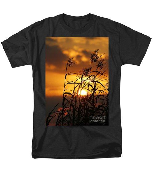 Men's T-Shirt  (Regular Fit) featuring the photograph Louisiana Marsh Sunset by Luana K Perez
