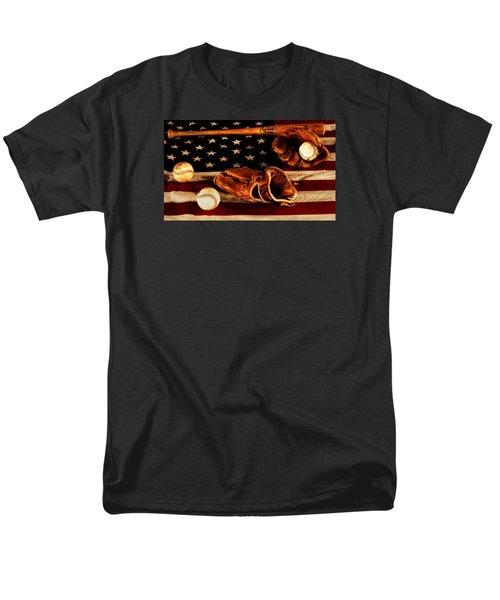 Louisville Slugger Men's T-Shirt  (Regular Fit) by Dan Sproul