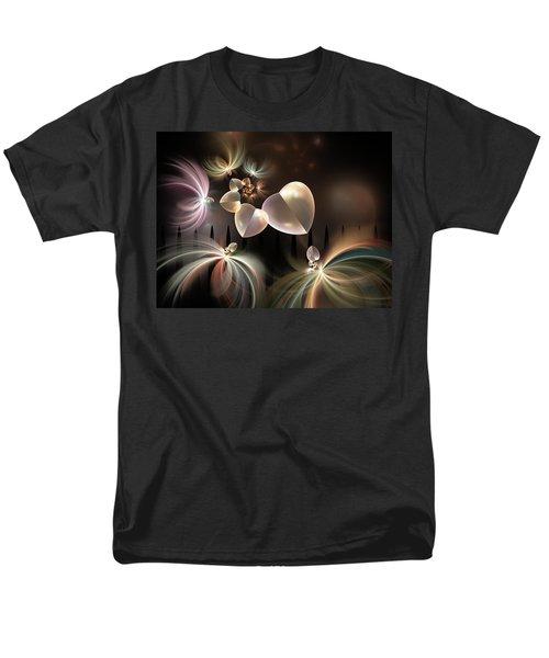 Men's T-Shirt  (Regular Fit) featuring the digital art Love Needs Freedom by Gabiw Art