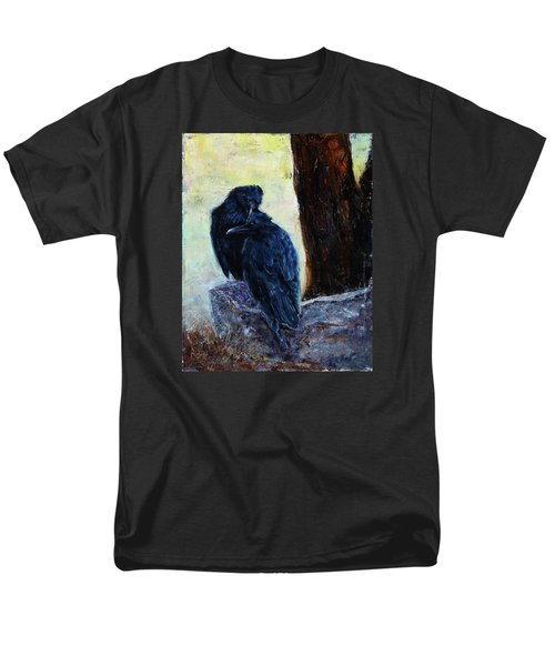 Men's T-Shirt  (Regular Fit) featuring the painting Love Season I by Xueling Zou