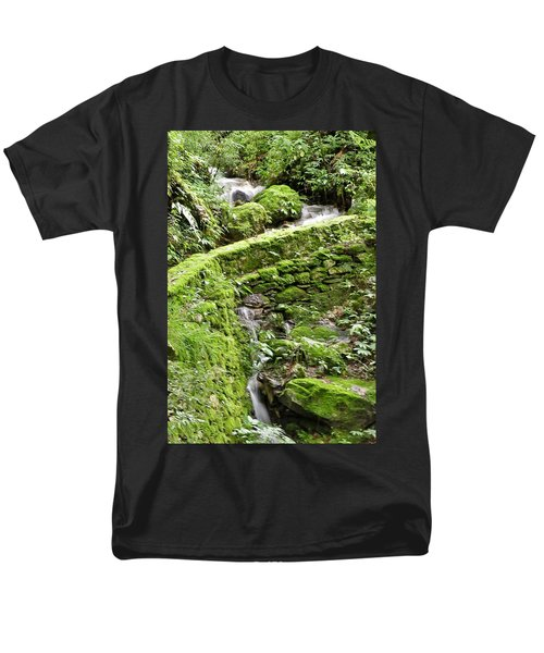 Lovely Waterfall Men's T-Shirt  (Regular Fit)