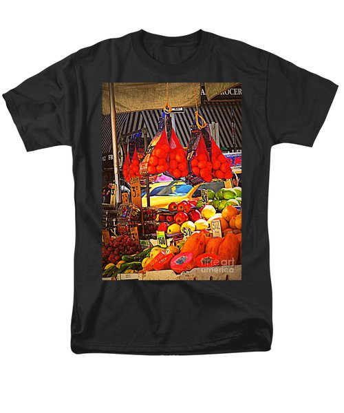 Men's T-Shirt  (Regular Fit) featuring the photograph Low-hanging Fruit by Miriam Danar