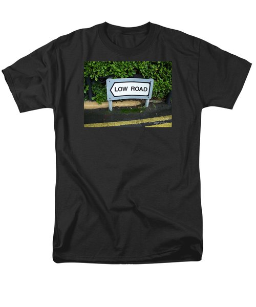 Men's T-Shirt  (Regular Fit) featuring the photograph Low Road by Marilyn Zalatan