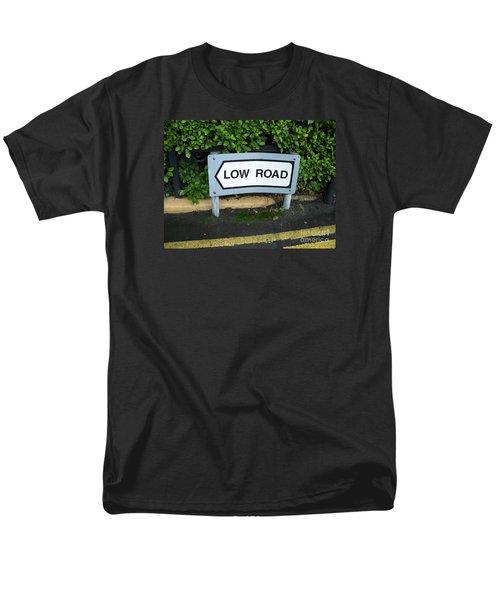 Low Road Men's T-Shirt  (Regular Fit) by Marilyn Zalatan
