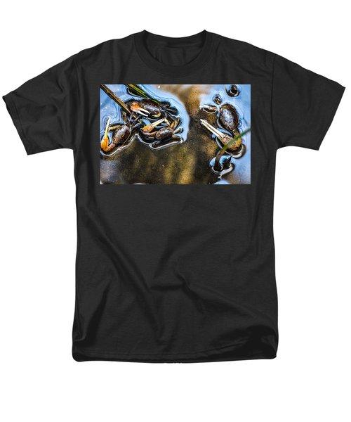 Low Tide Breakfast  Men's T-Shirt  (Regular Fit) by Mary Ward