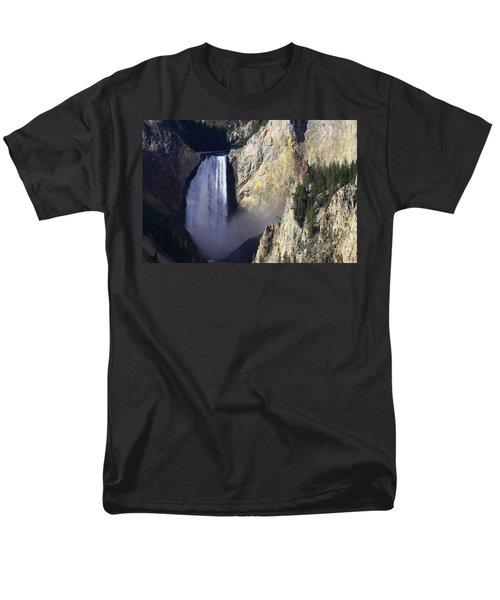 Men's T-Shirt  (Regular Fit) featuring the photograph Lower Falls by David Andersen