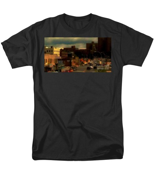 Men's T-Shirt  (Regular Fit) featuring the photograph Lowering Clouds by Miriam Danar