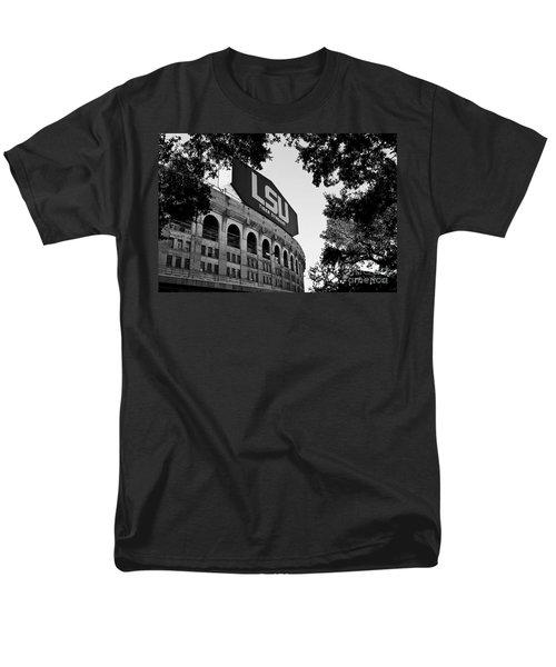 Lsu Through The Oaks Men's T-Shirt  (Regular Fit) by Scott Pellegrin