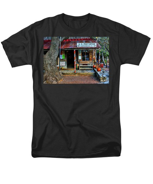Luckenbach Texas Men's T-Shirt  (Regular Fit) by Judy Vincent