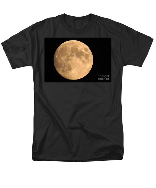 Lunar Mood Men's T-Shirt  (Regular Fit) by Mary Mikawoz