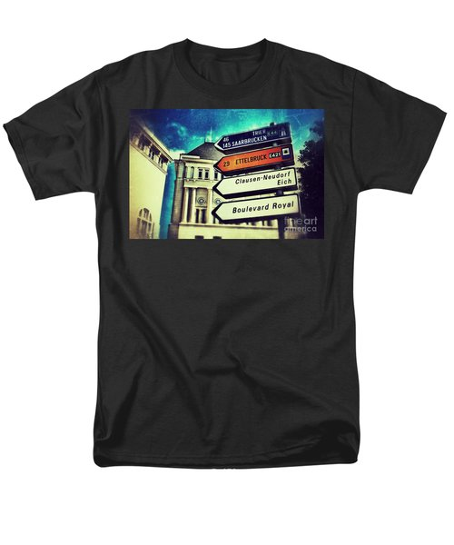 Men's T-Shirt  (Regular Fit) featuring the photograph Luxembourg City by Nick  Biemans