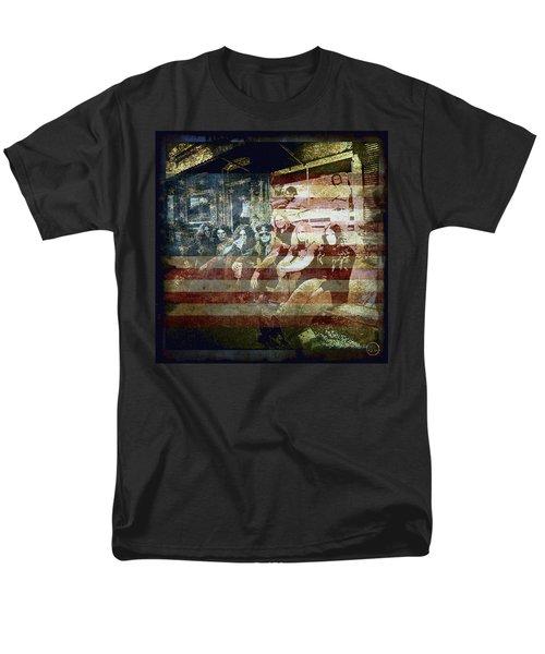 Lynyrd Skynyrd - Simple Man Men's T-Shirt  (Regular Fit) by Absinthe Art By Michelle LeAnn Scott