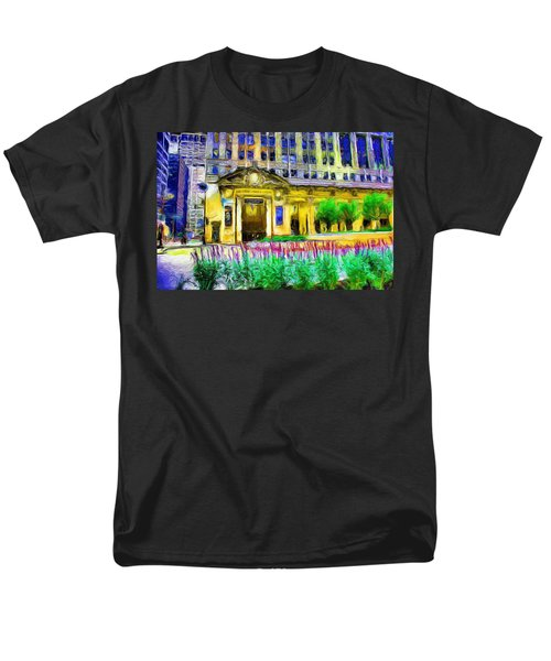 Lyric Opera House Of Chicago Men's T-Shirt  (Regular Fit) by Ely Arsha