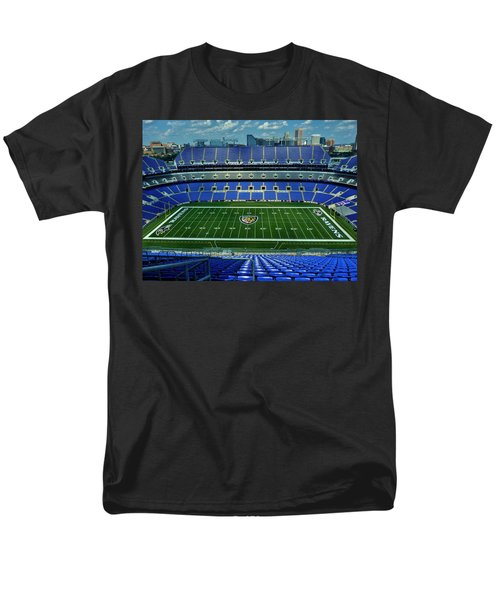 M And T Bank Stadium Men's T-Shirt  (Regular Fit) by Robert Geary