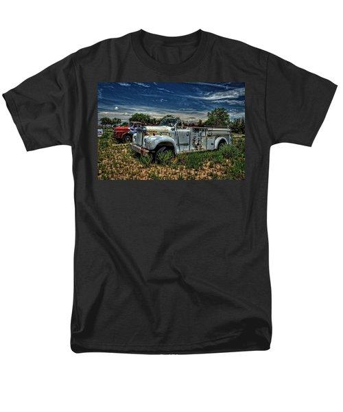 Men's T-Shirt  (Regular Fit) featuring the photograph Mack Fire Truck by Ken Smith