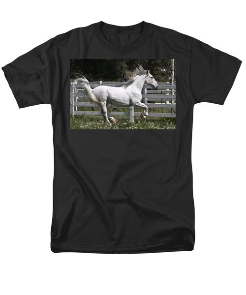 Men's T-Shirt  (Regular Fit) featuring the photograph Maestoso Aurorra D3990 by Wes and Dotty Weber