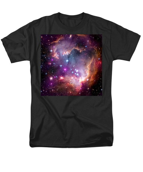 Magellanic Cloud 3 Men's T-Shirt  (Regular Fit) by Jennifer Rondinelli Reilly - Fine Art Photography