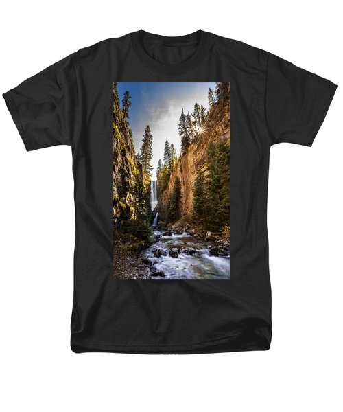 Magnificent  Mystic Falls  Men's T-Shirt  (Regular Fit) by Steven Reed