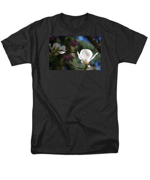 Magnolia Blossoms Men's T-Shirt  (Regular Fit) by Marilyn Wilson