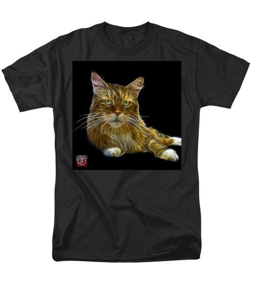 Maine Coon Cat - 3926 - Bb Men's T-Shirt  (Regular Fit) by James Ahn