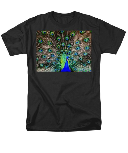 Majestic Blue Men's T-Shirt  (Regular Fit) by Karen Wiles