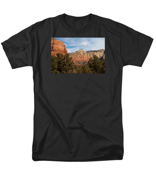 Men's T-Shirt  (Regular Fit) featuring the photograph Majestic Sedona by Randy Bayne