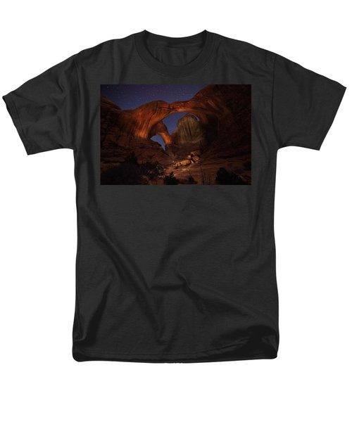 Men's T-Shirt  (Regular Fit) featuring the photograph Make It A Double by David Andersen