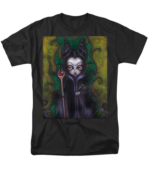 Maleficent  Men's T-Shirt  (Regular Fit) by Abril Andrade Griffith