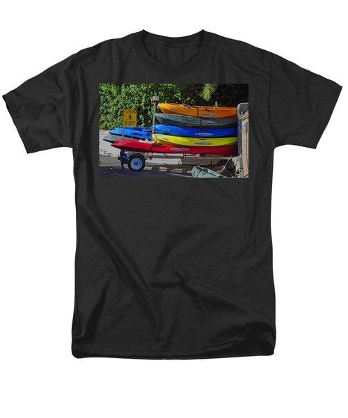Malibu Kayaks Men's T-Shirt  (Regular Fit) by Gandz Photography