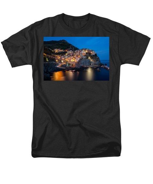 Men's T-Shirt  (Regular Fit) featuring the photograph Manarola by Mihai Andritoiu