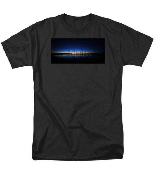 Men's T-Shirt  (Regular Fit) featuring the photograph Manasquan Reservoir At Dawn by Raymond Salani III