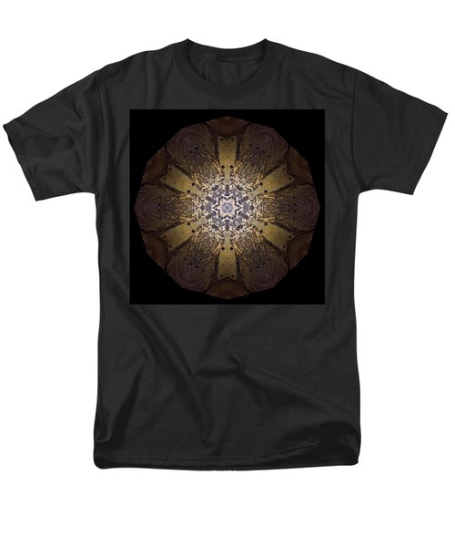 Men's T-Shirt  (Regular Fit) featuring the photograph Mandala Sand Dollar At Wells by Nancy Griswold