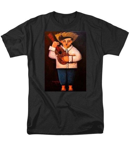 Manolito El Cuatrista 1942 Men's T-Shirt  (Regular Fit) by Oscar Ortiz